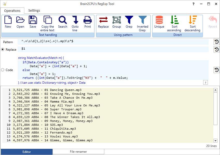 RegExpEditor 6.0 full